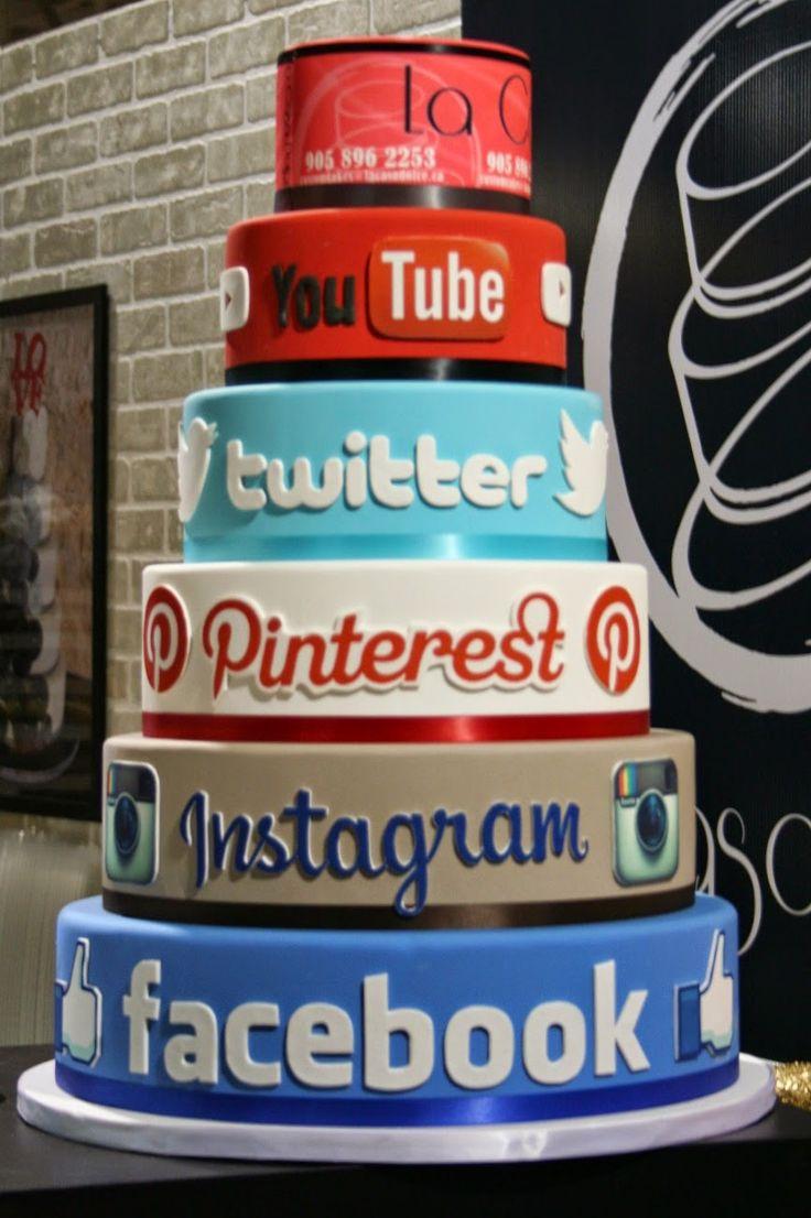 Resultado de imagem para decoração tema redes sociais